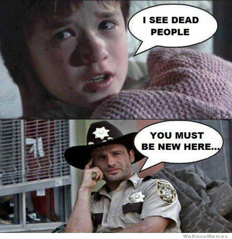 The Top 15 Funniest Walking Dead Memes