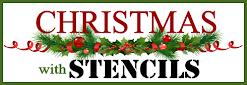 Christmas Stencil Hop