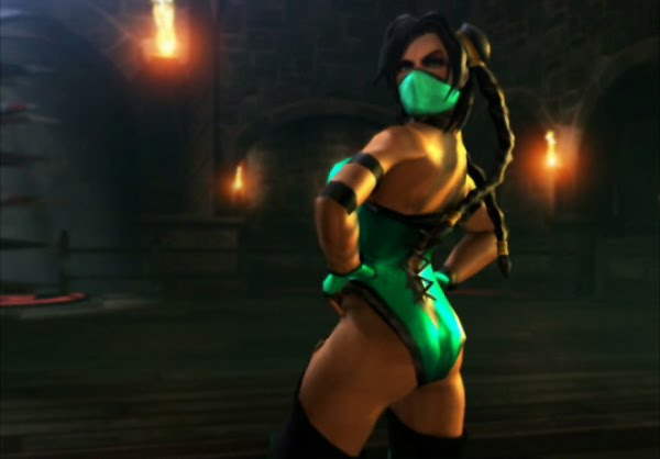 mortal kombat 9 jade unmasked. mortal kombat 9 jade hot.