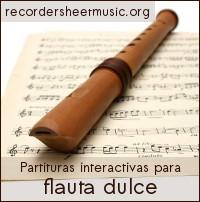 Recorder Sheet Music