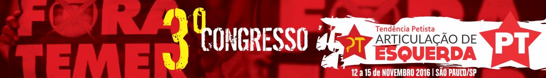 3º Congresso da Articulação de Esquerda
