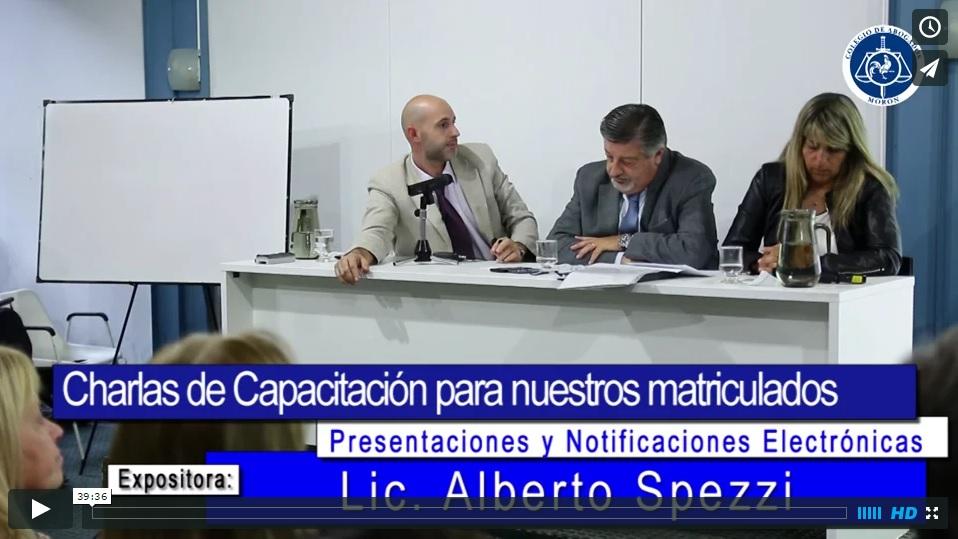 VIDEO CAM - PRESENTACIONES Y NOTIFICACIONES ELECTRÓNICAS. SEGUNDA PARTE
