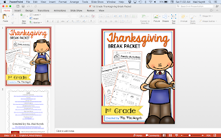 https://www.teacherspayteachers.com/Product/1st-Grade-Thanksgiving-Break-Packet-2184849