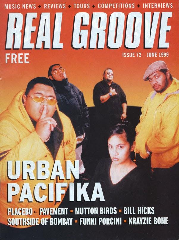 Real Groove june 1999, Urban Pacifika, photo by Gary Brandon