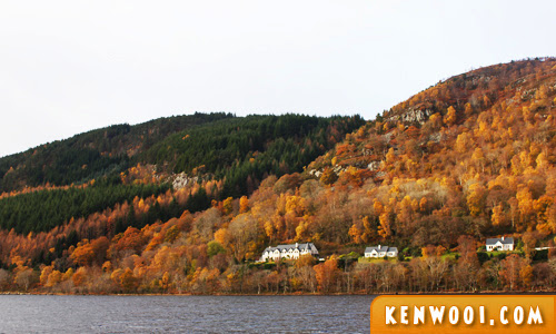 inverness autumn foliage