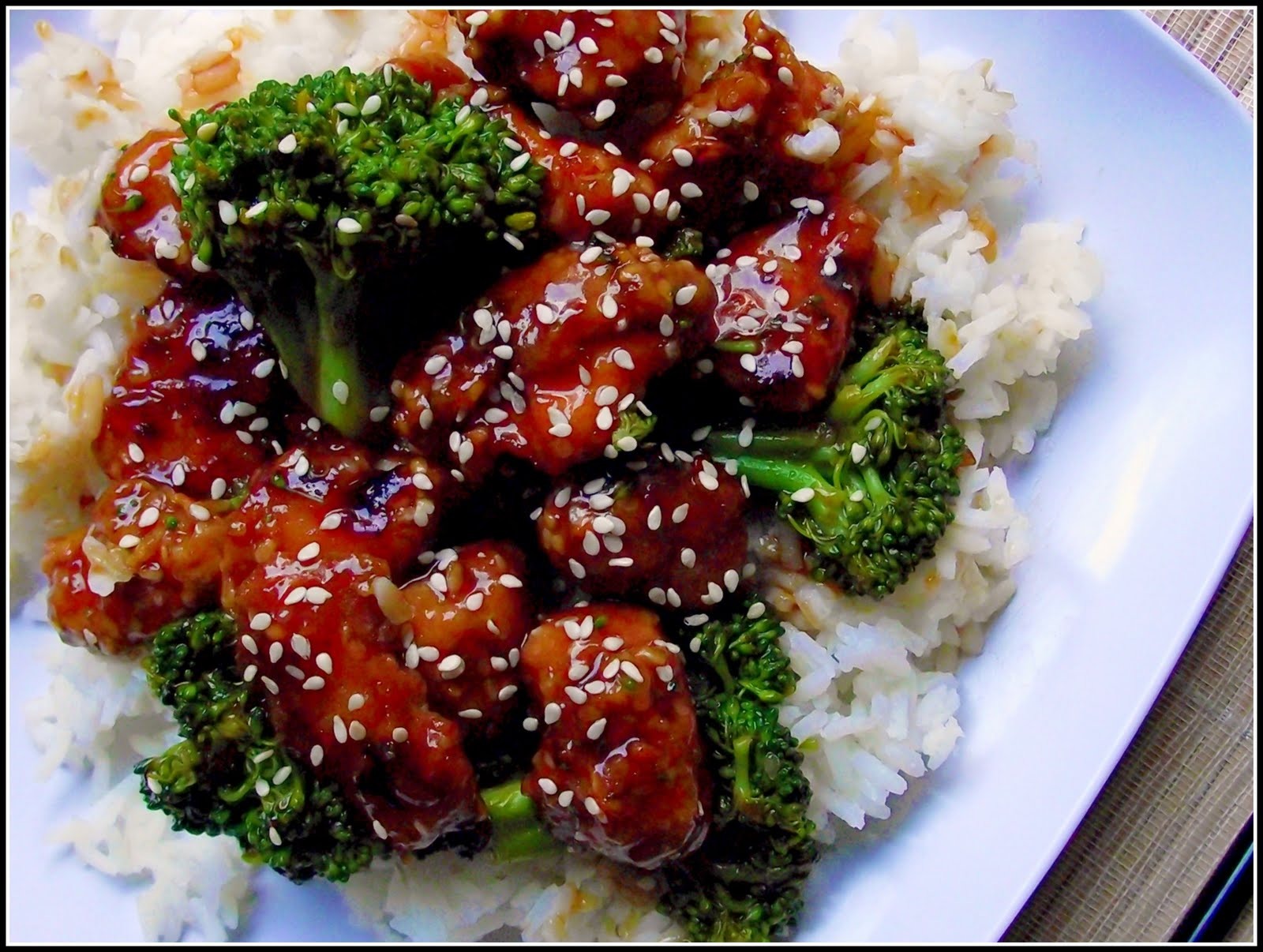 Sesame Chicken Fake-Out