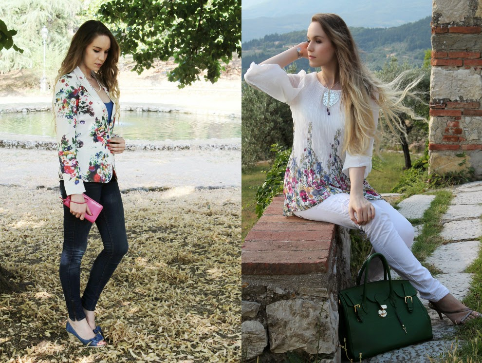 floral prints summer outfit