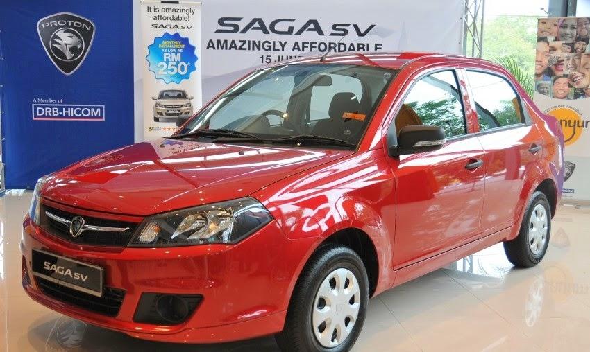 Proton Saga SV
