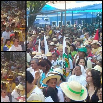 Distrito de Cariri Representa a Jufra do Brasil na 13ª edição do Intereclesial das Comunidades Eclesiais de Bases (CEBs)