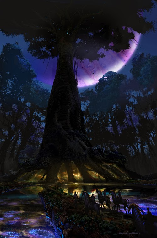 Breath Taking Avatar Concept Art By Ryan Church 171 Film Sketchr