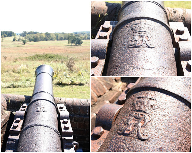 A British cannon at Valley Forge?