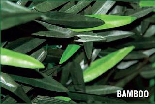 umělý živý plot - bambus