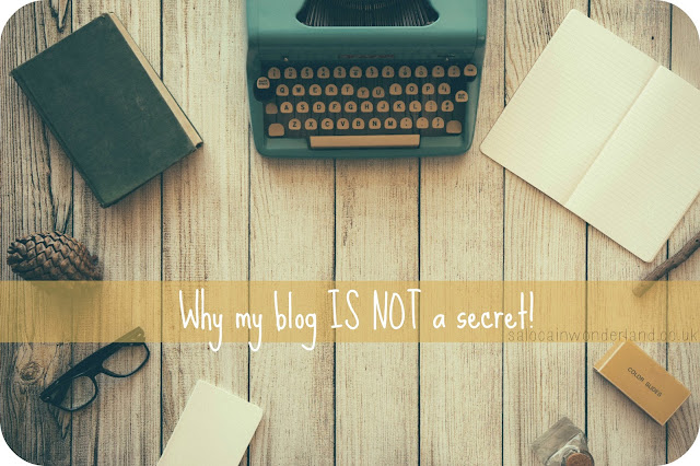 keeping your blog a secret