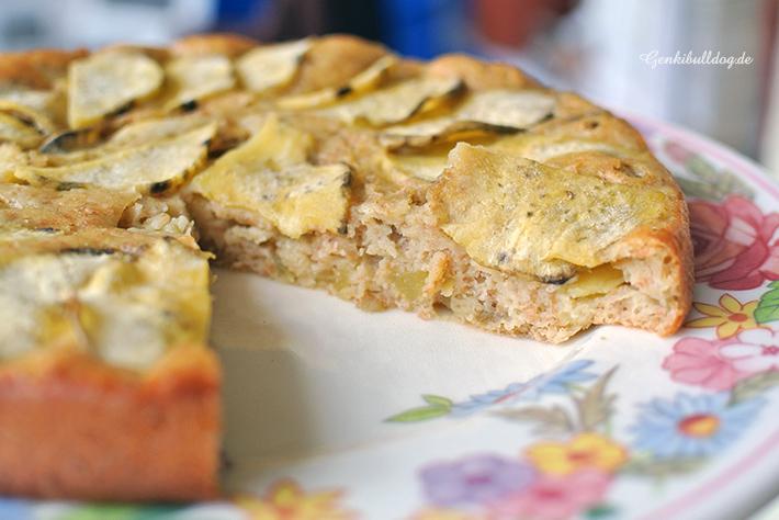 Süßkartoffel Kuchen für Hunde