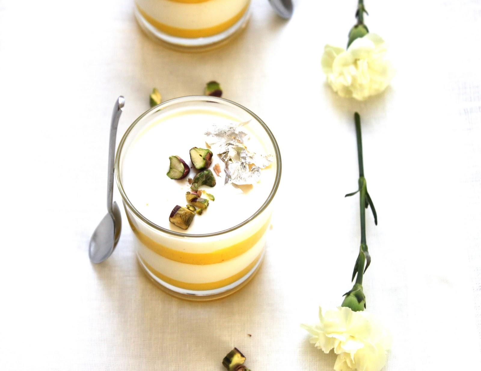 SoulCurry: Limoncello Panna Cotta with Saffron-Lemon Curd & Florentine ...
