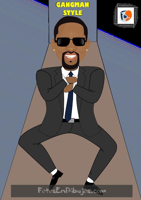 Dibujo Gangman Style - Will Smith