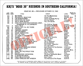 KHJ Boss 30 No. 68 - October 19, 1966