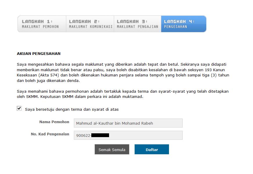 4.+Pengesahan Pendaftaran Pakej Komunikasi Belia   Rebat RM200 SKMM Di Buka Sekarang!