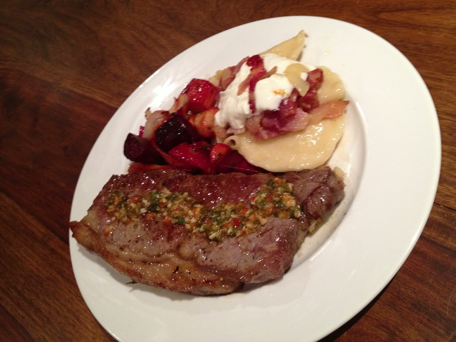 how to make garlic butter sauce for steak