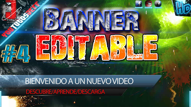 BANNER EDITABLE #4 CON AFTER EFFECTS CS6 | 2015