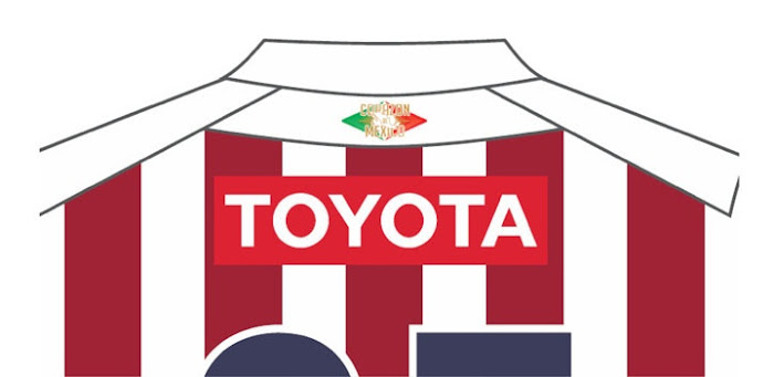 Diseño de la nueva playera de las chivas Guadalajara