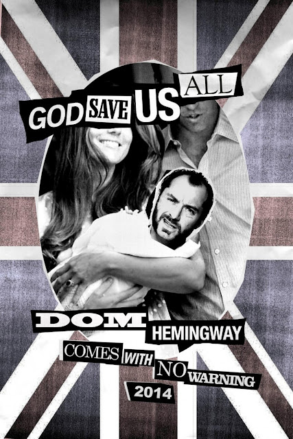 Dom Hemingway God Save Us All Poster