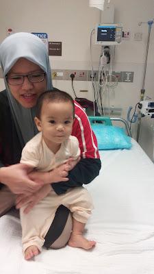 Anak Terkene Jangkitan Rotavirus - Cirit Birit yang teruk