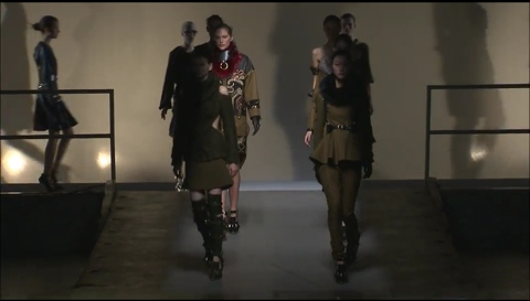 The Finale at Prabal Gurung's Fall 2013 Regiment Collection