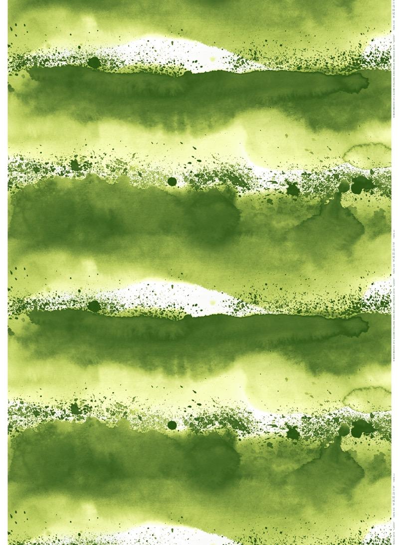 marimekon vihreä luovikuosi