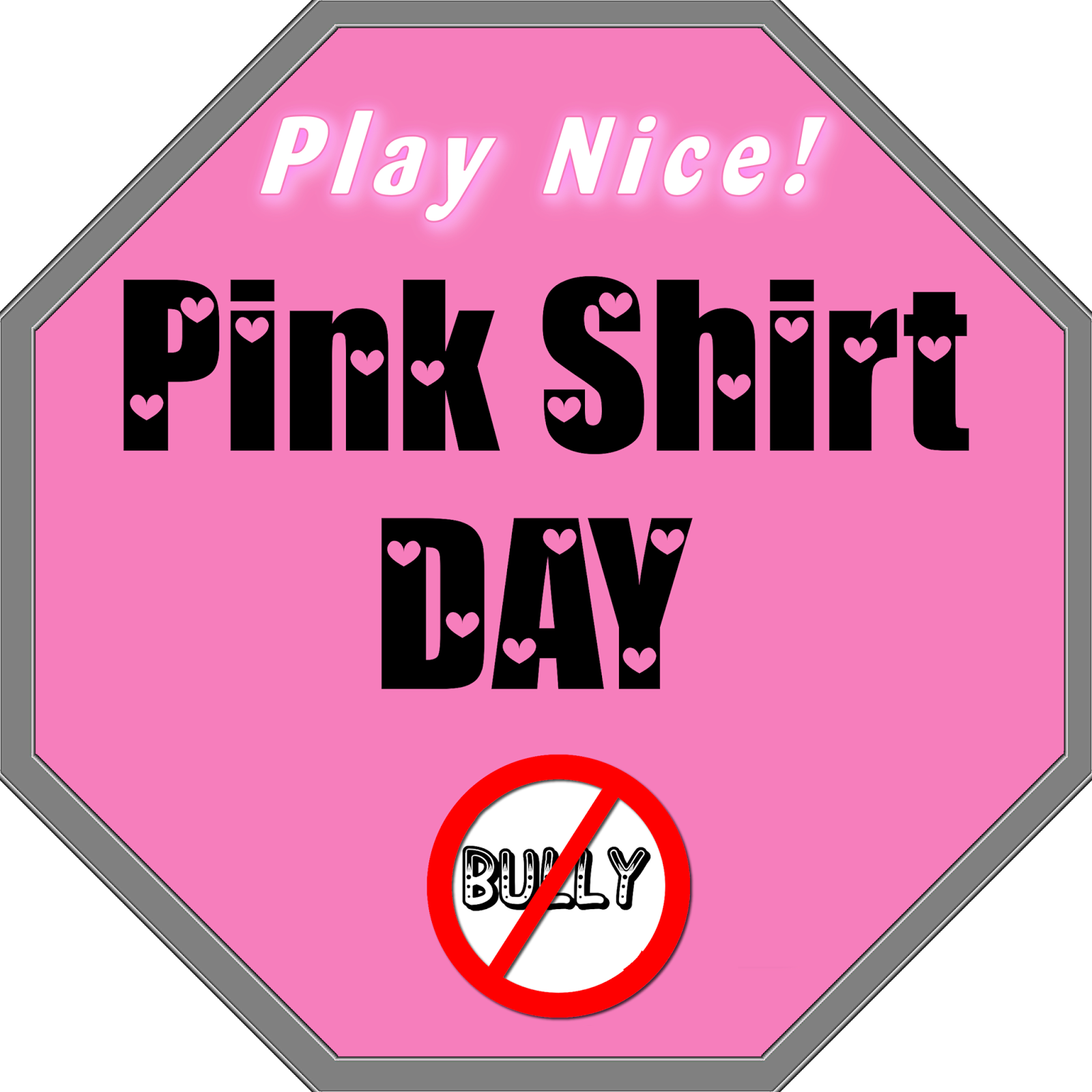 Pink Shirt Day - The Bullying Stops Here: David Shepherd and ...