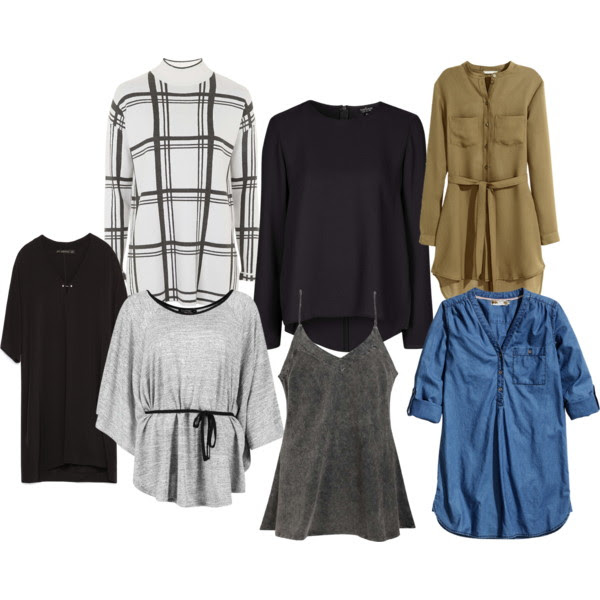 OUTFIT INSPIRATION - TUNICS