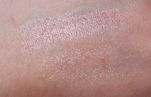 Opupa Highlighter, Burts Bees Lip Shimmer Champagne