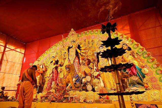 Durga Puja 2012 : Harish Park