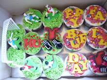 cupcake-football theme