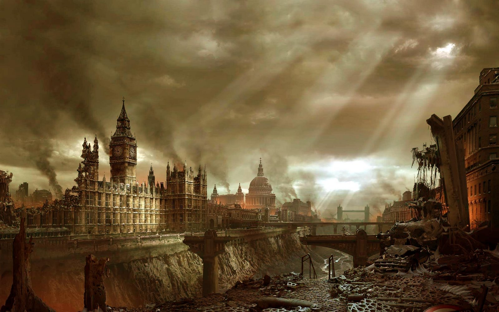 Post Apocalypse London Chinese tech company offering Doomsday Vacation for upcoming apocalypse