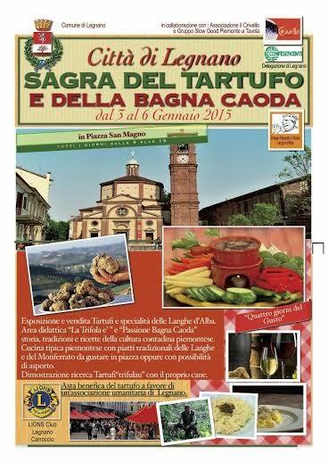 Sagra del Tartufo dal 3 al 6 Gennaio 2015 Legnano (MI)
