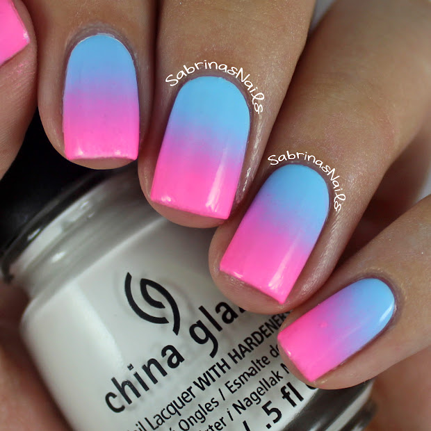 sabrinas nails cotton candy ombre