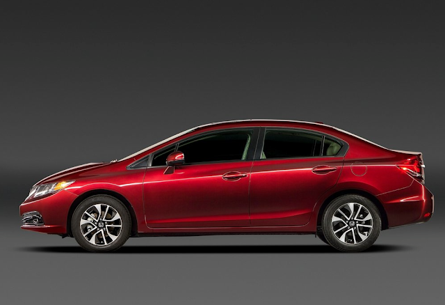 2013 Honda Civic red
