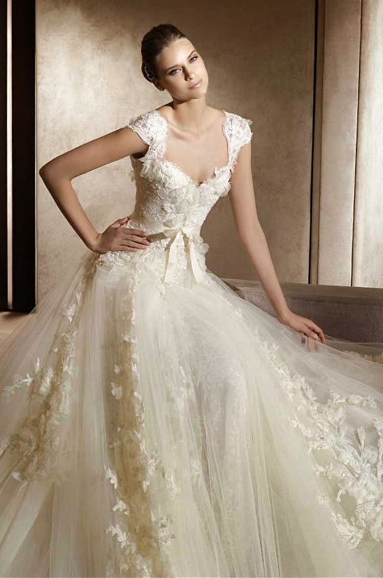 Vintage Wedding Dresses 2014 Photos HD Concepts Ideas