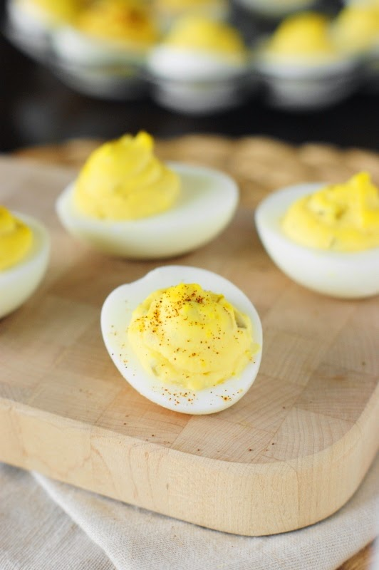 Deviled Egg Garnishes ~ Cayenne Pepper