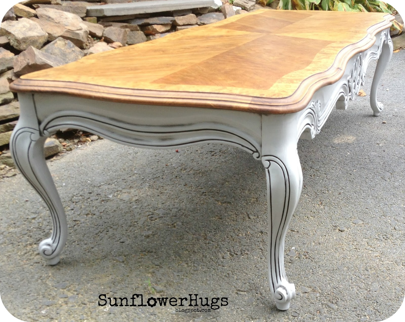 Sunflowerhugs 5 39 Long French Country Coffee Table