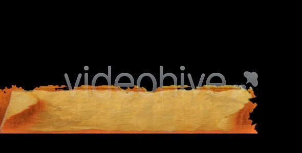 VideoHive old paper lower third