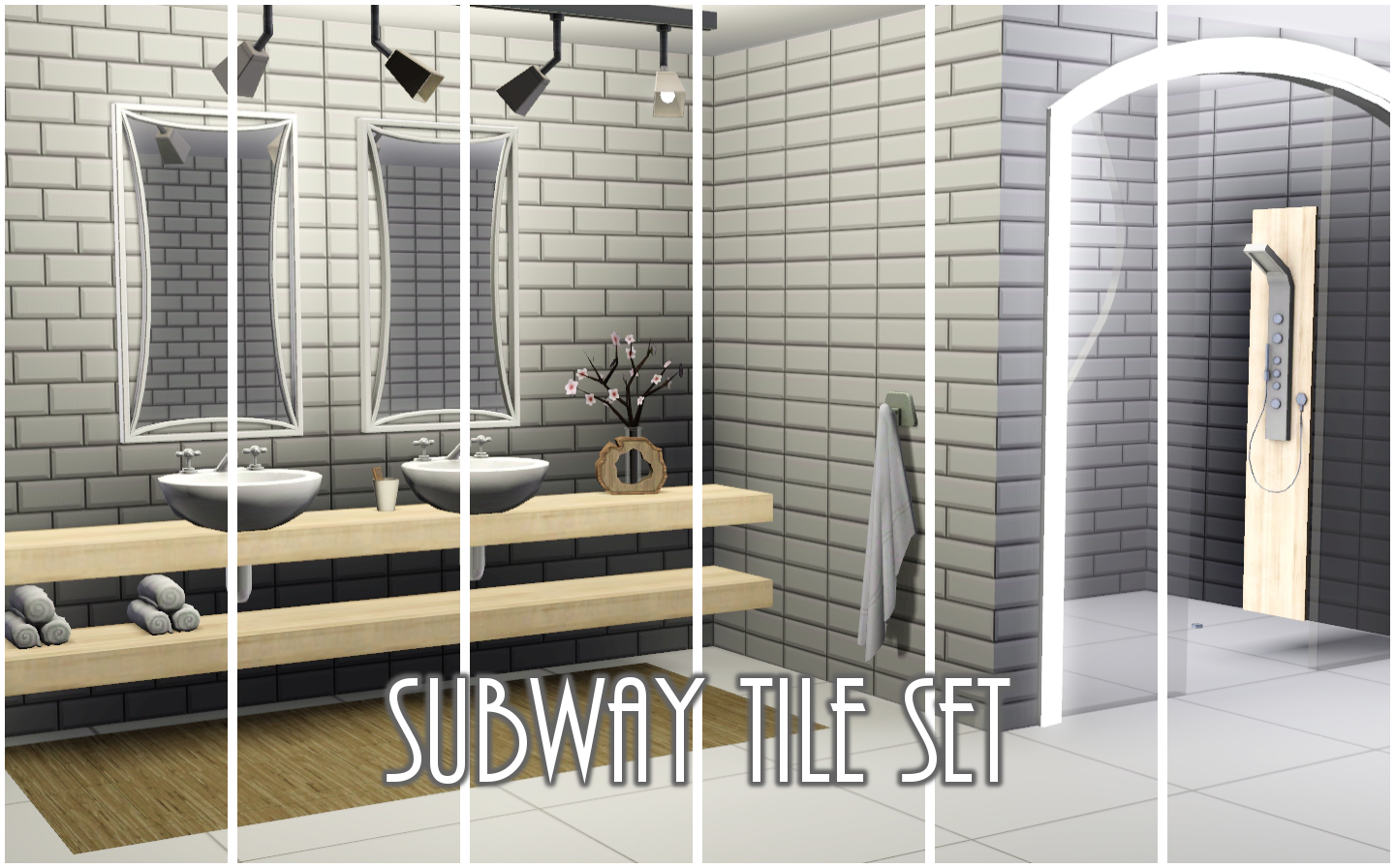 My sims 3 blog beveled subway tiles by peacemaker ic beveled subway tiles by peacemaker ic dailygadgetfo Image collections