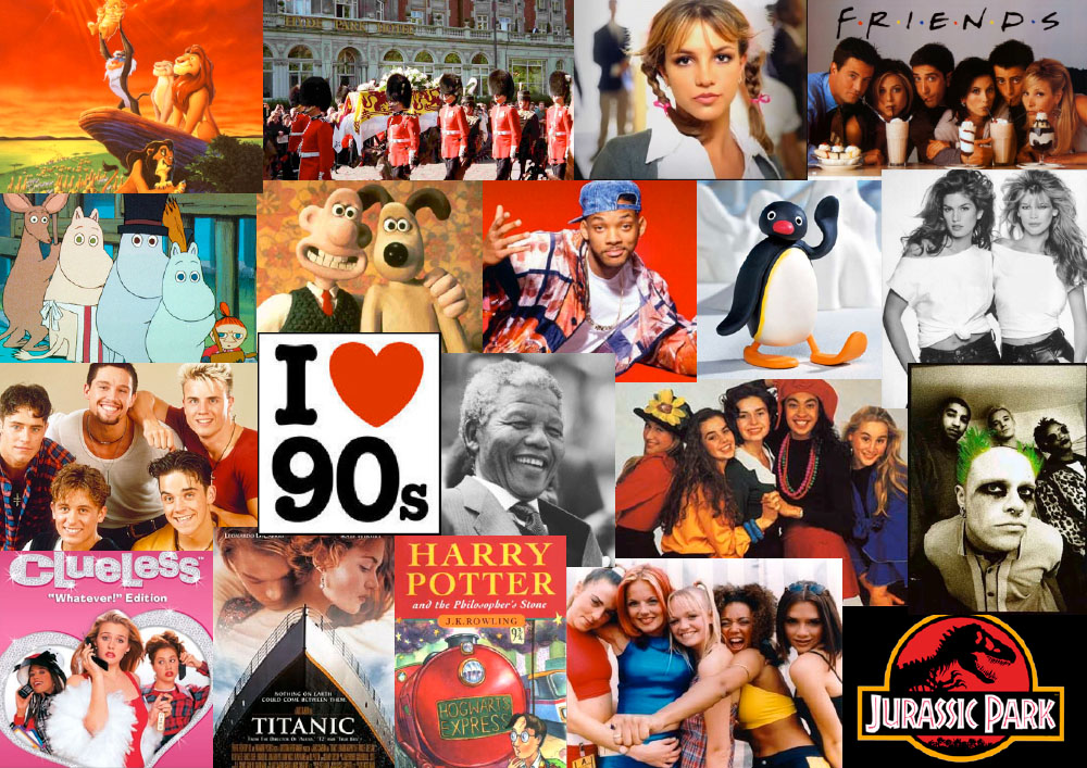 What decade were...1990s Decade