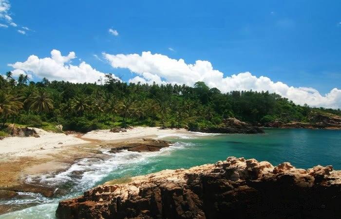 Pantai Marina  Pariwisata Lampung