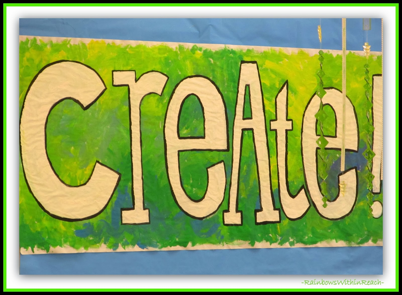 CREATE banner via RainbowsWithinReach