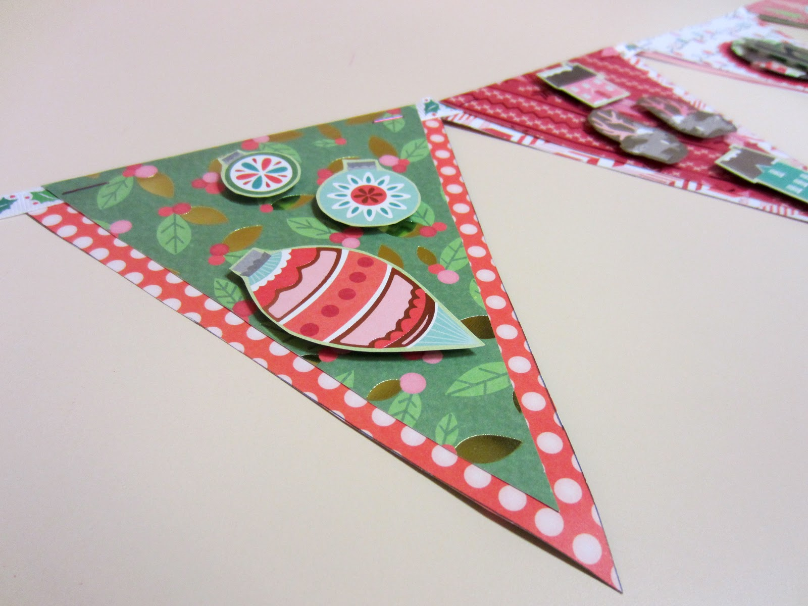 Moxie Fox Diy Holiday Bunting Flags