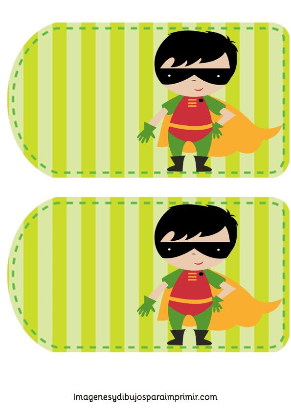 Invitaciones de superheroes para imprimir