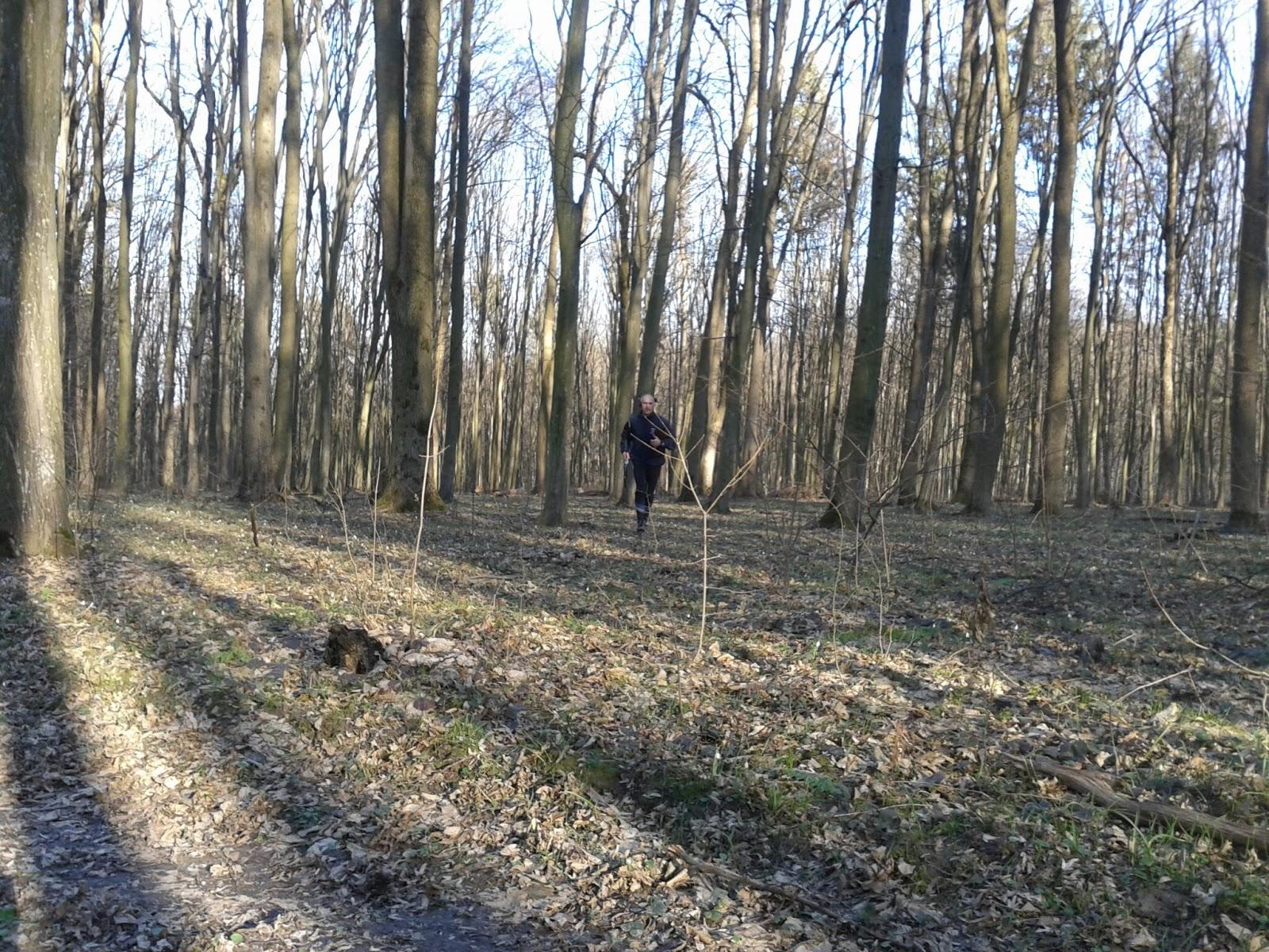 Тренировка по Охоте на Лис (ardf, радиопеленгация) в Лесопарке, в Виннице