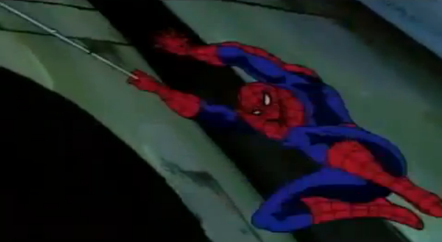 Spider-Man The Animated Series 90's Spidey Webslinging
